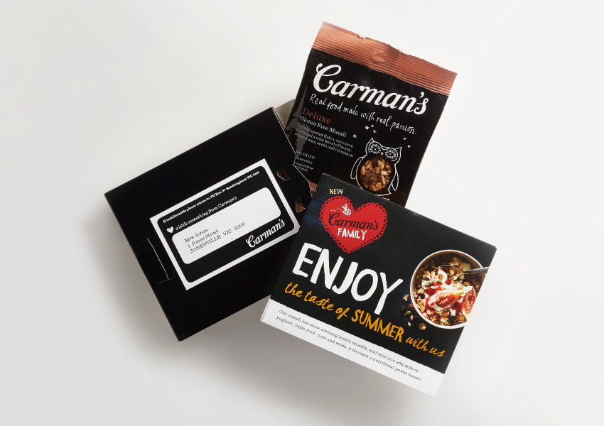 Carman's Family Muesli Sample