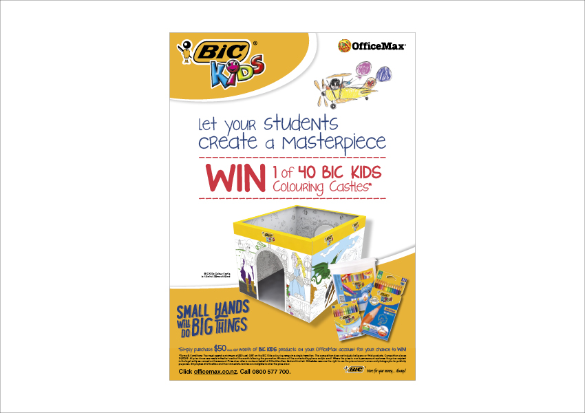 BIC Trade presenter by True Characters