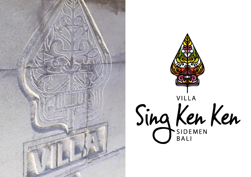 Sing Ken Ken Resort Bali Corporate identity by True Characters