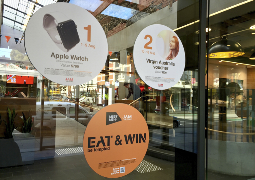 Jam Factory Eat & Win Promotion by True Characters