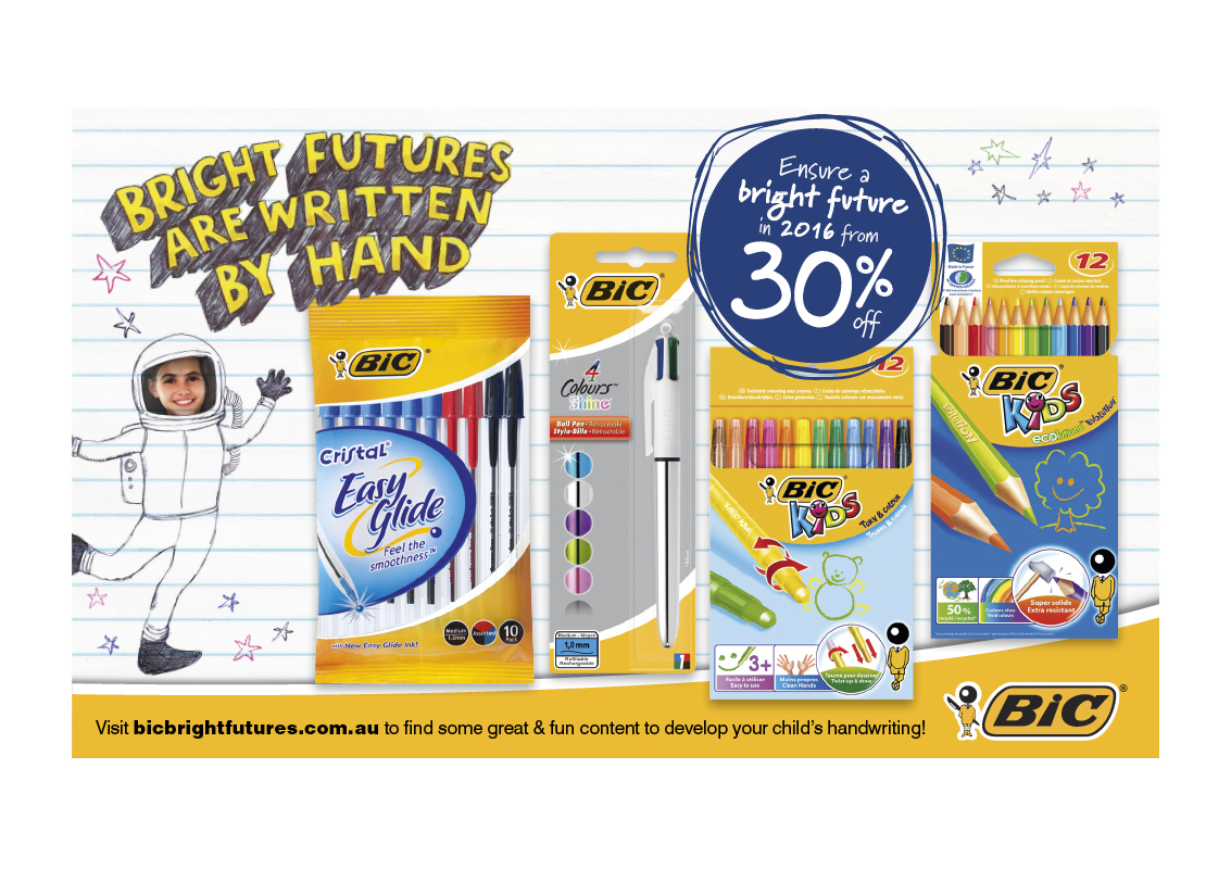 BIC Back to school
