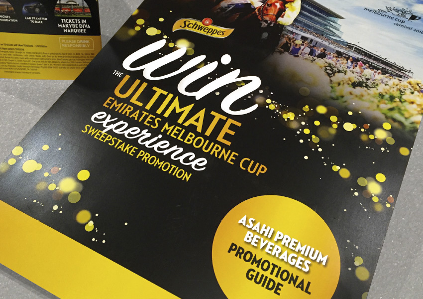 Schweppes Melb Cup