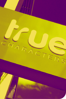 image of True Characters exterior signage